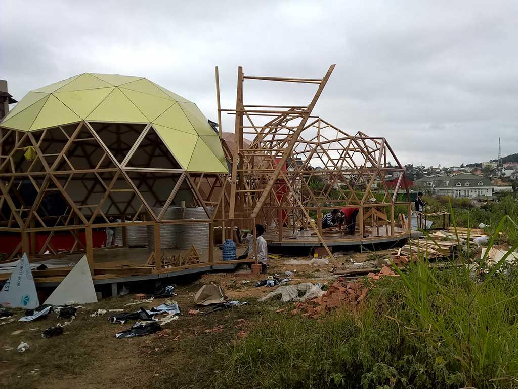 thi công xây dựng bungalow Đà Lạt