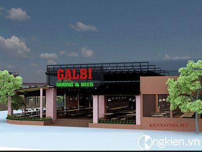 Thiết kế quán nhậu Galbi